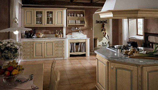 Masonry Kitchen Design Teresa
