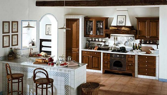 Masonry Kitchen Designs by Arrex