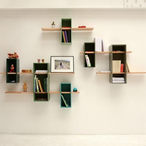 Max Shelves: A Reinterpretation Of A Mid Century Bookcase