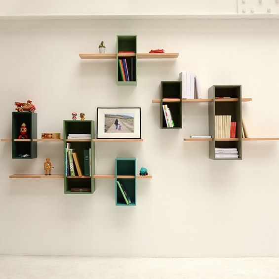 Max Shelves: A Reinterpretation Of A Mid-Century Bookcase