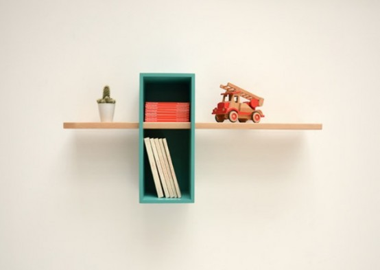Max Shelves A Reinterpretation Of A Mid Century Bookcase