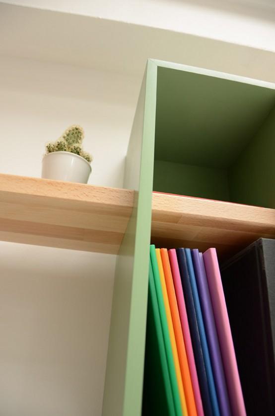 Max Shelves A Reinterpretation Of A Mid Century Bookcase