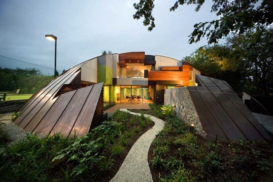 Top 5 Unusual House Designs - Best Of 2009 - Digsdigs