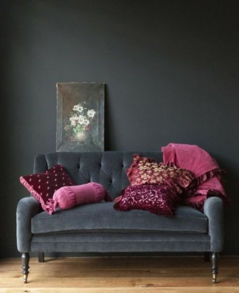 Metallic Grey And Pink  Trendy Home Decor Ideas Digsdigs