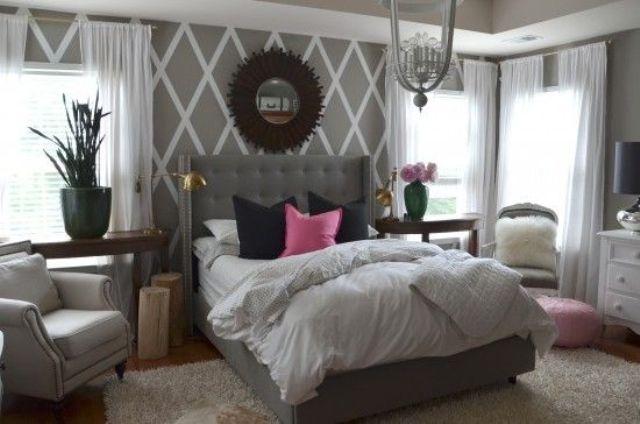 30+ Grey Bedrooms Decor Ideas