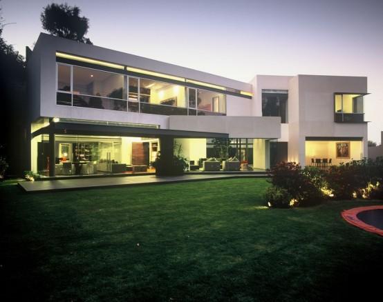 Mexico Modern Urban Limestone House