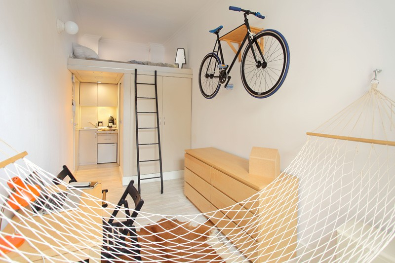 Micro Yet Airy Apartment Of Just 13 Square Meters