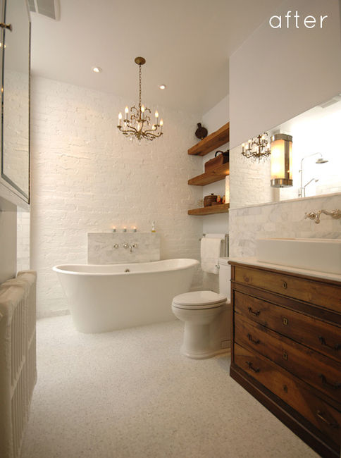 25 wonderful bathroom design ideas digsdigs for Small 4 piece bathroom designs