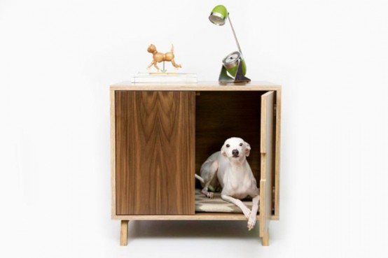 Mid-Century Chic Pet Furniture By Modernist Cat