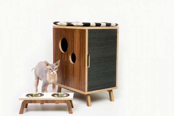 chic cat furniture. Beautiful Cat Mid Century Chic Pet Furniture By Modernist Cat Throughout