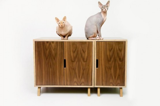 chic cat furniture. Mid Century Chic Pet Furniture By Modernist Cat