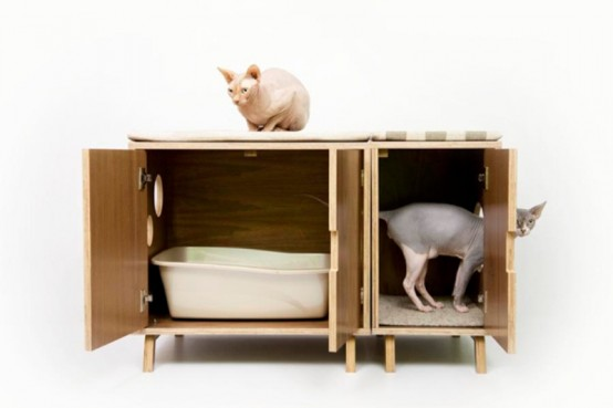 chic cat furniture diy mid century chic pet furniture by modernist cat midcentury digsdigs