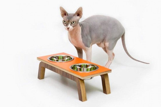 Mid Century Chic Pet Furniture By Modernist Cat
