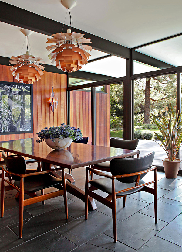 Mid century house with a modern touch in los angeles for Mid century modern homes los angeles
