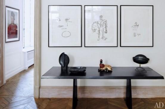 Mid-Century Modern Art-Filled Apartment - DigsDigs