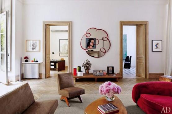 Mid Century Modern Art Filled Apartment