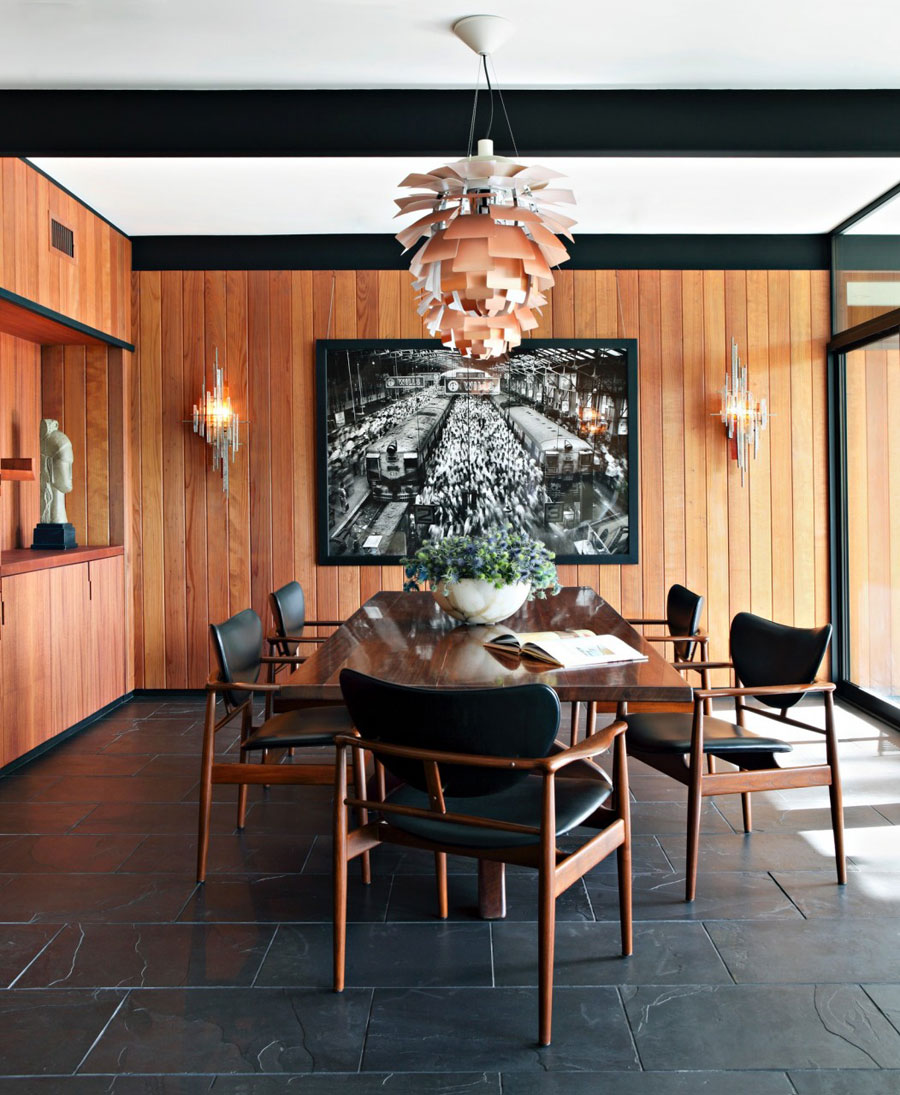 Picture Of mid century modern house decorated with an impeccable taste  2