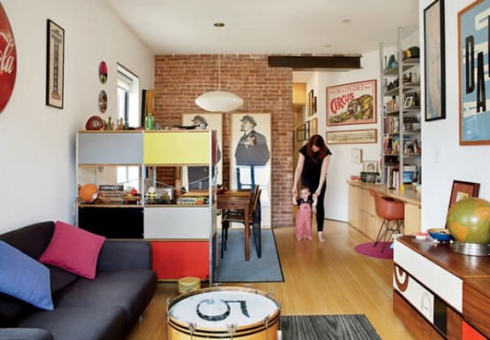 Mid Century Modern Renovation Of A Tiny New York Apartment