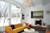 Midcentury Modern Sunroom
