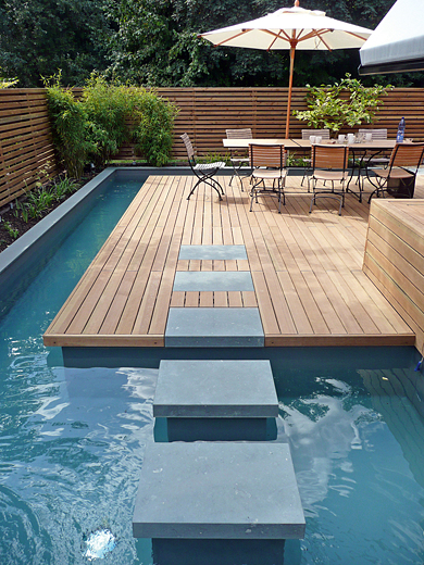 Mini Outdoor Spa Design