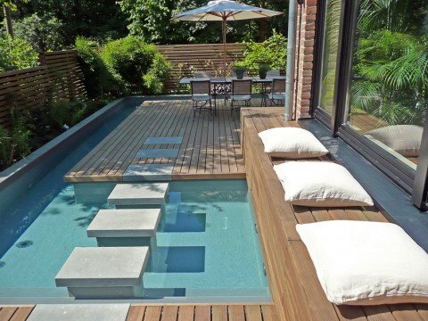 Mini Spa Design for Small Terraced Houses