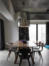 Minimal And Chic Taiwan Apartment With Turquoise Accents