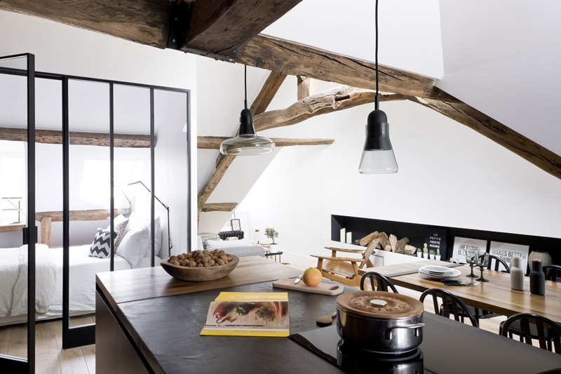 Picture Of minimalist 18th century apartment with a scandinavian feel  3