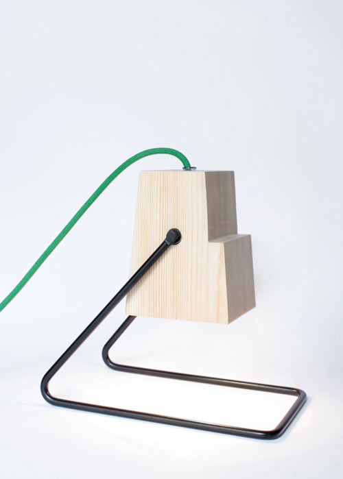 Minimalist 360 Table Lamp Of Natural Wood