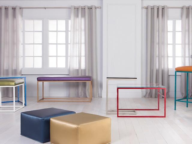 Minimalist And Colorful Cromatti Furniture Collection