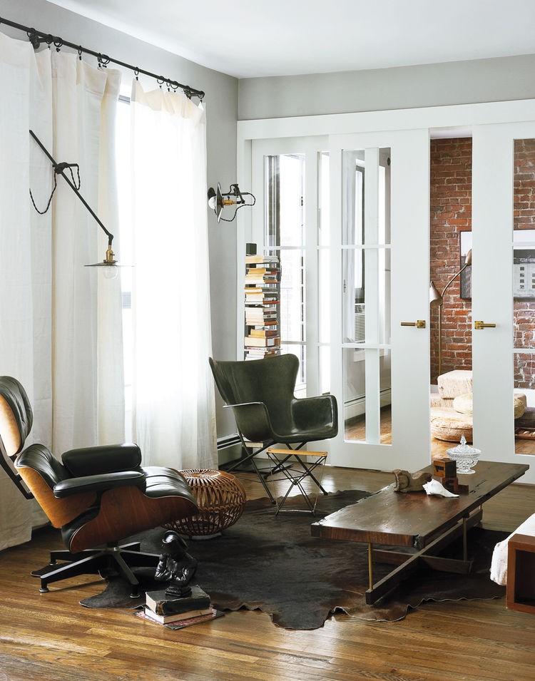 Minimal Yet Eye Catching Brooklyn Apartment