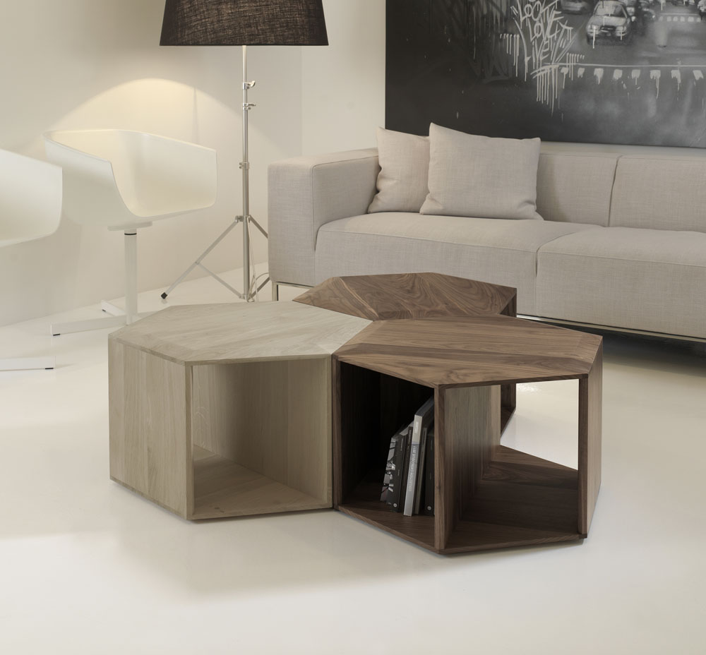 Minimalist And Functional HEXA Coffee Table