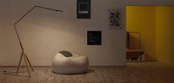 Minimalist And Functional Noneli Floor Lamp