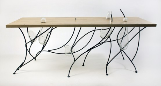 Minimalist And Philosophical Dining Table