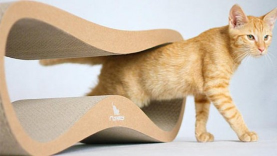 Minimalist And Stylish Cat Beds And Scratchers
