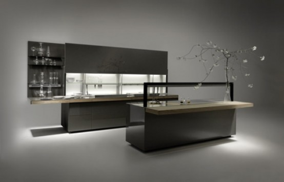 Minimalist And Stylish Genius Loci Kitchen
