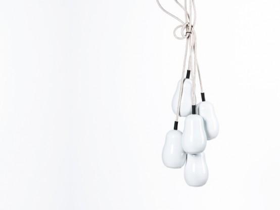 Minimalist Babula Lamps Inspired By The Russian Matryoshka