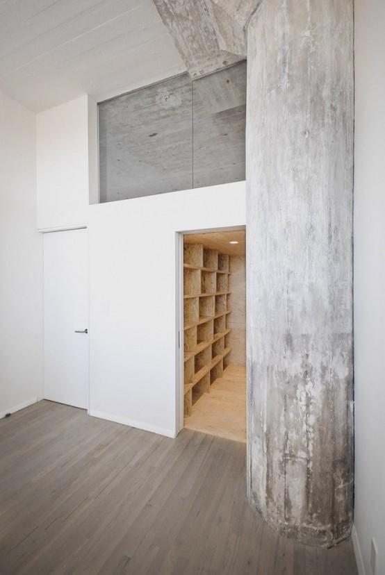 Minimalist Brooklyn Loft With Asymmetrical Design Digsdigs