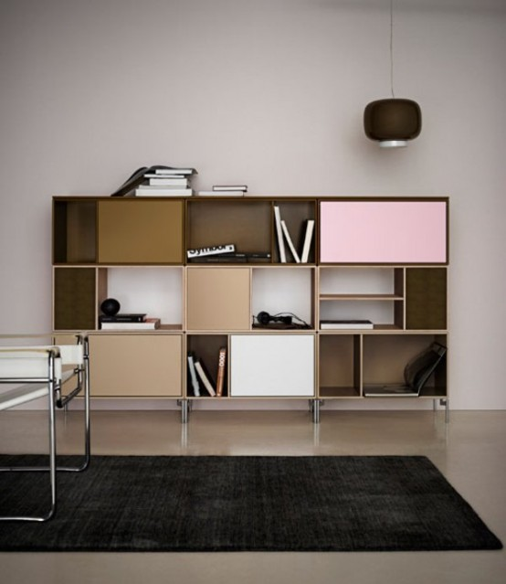 home and office storage. Minimalist Colorful Furniture For Home And Office Storage O
