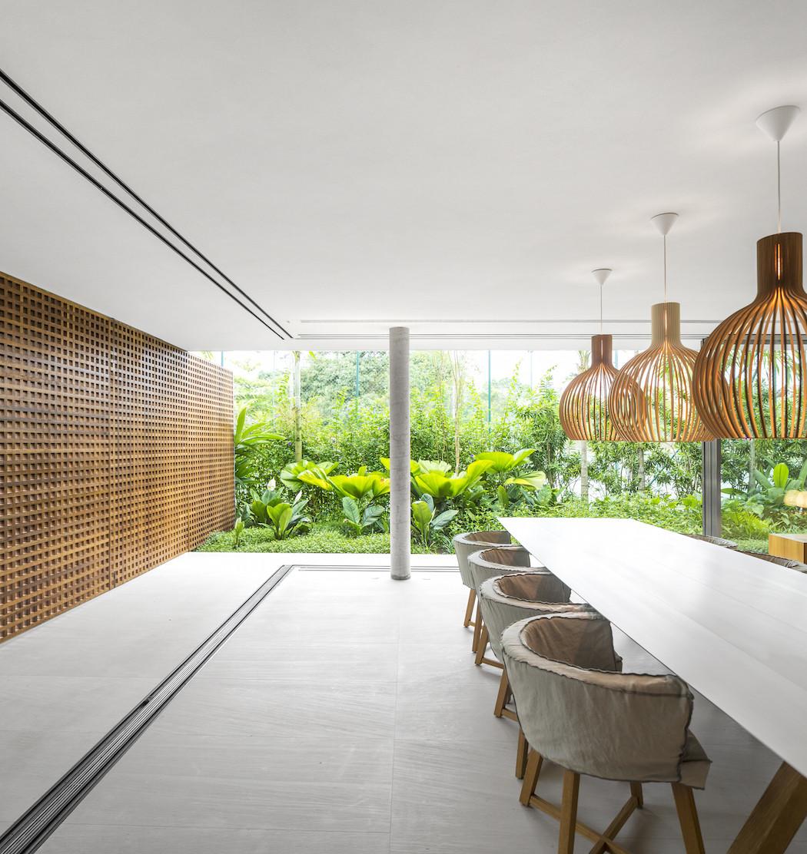 Picture Of minimalist concrete casa branca in the tropics  13