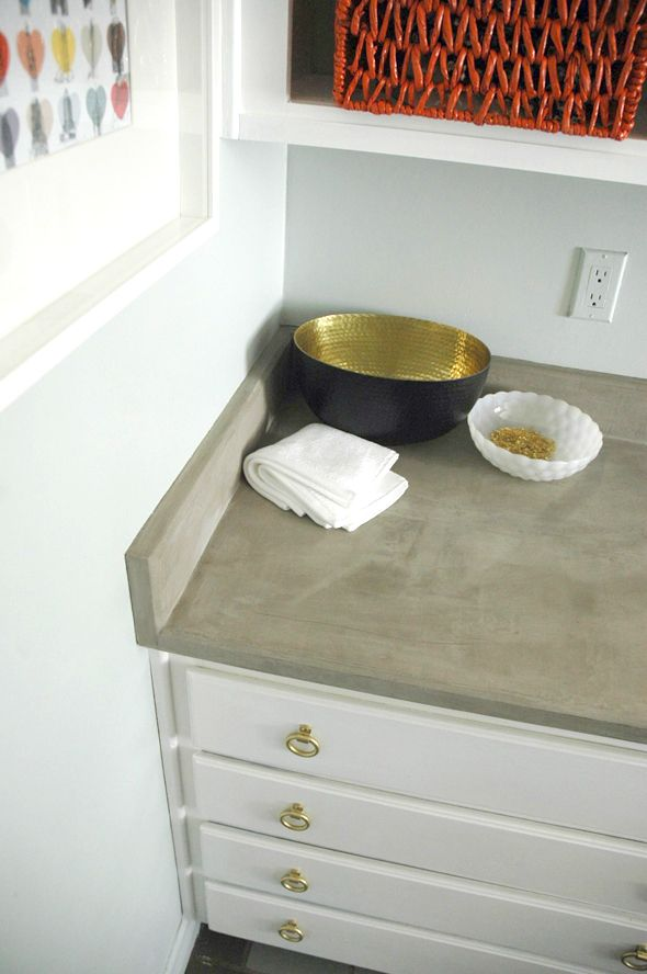 39 Minimalist Concrete Kitchen Countertop Ideas