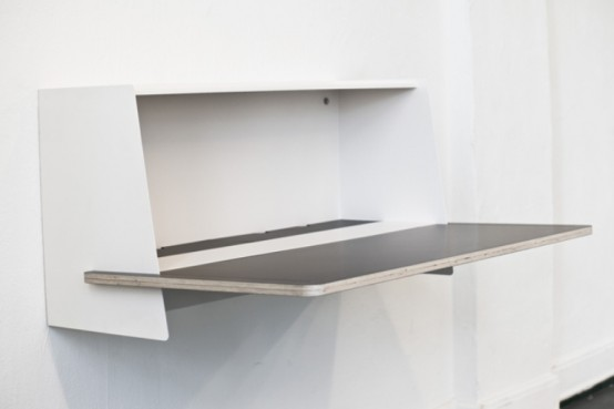 Minimalist Functional Secretaire That Fits Any Room