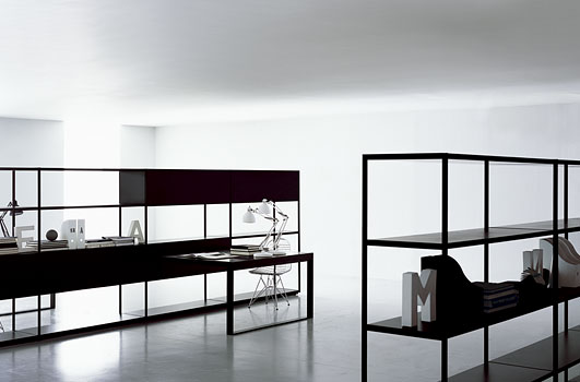 Minimalist furniture for home office digsdigs for Minimalist house furnishings