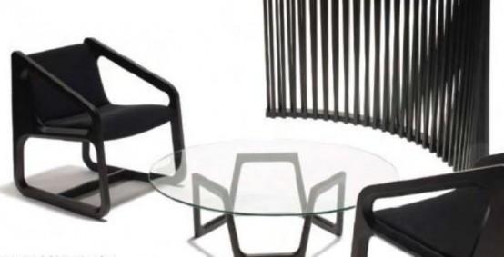 Minimalist Furniture In The Mid Century Style