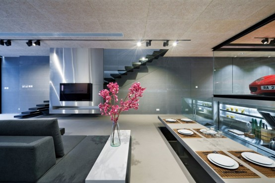 Minimalist Hong Kong House With A Stunning Interior
