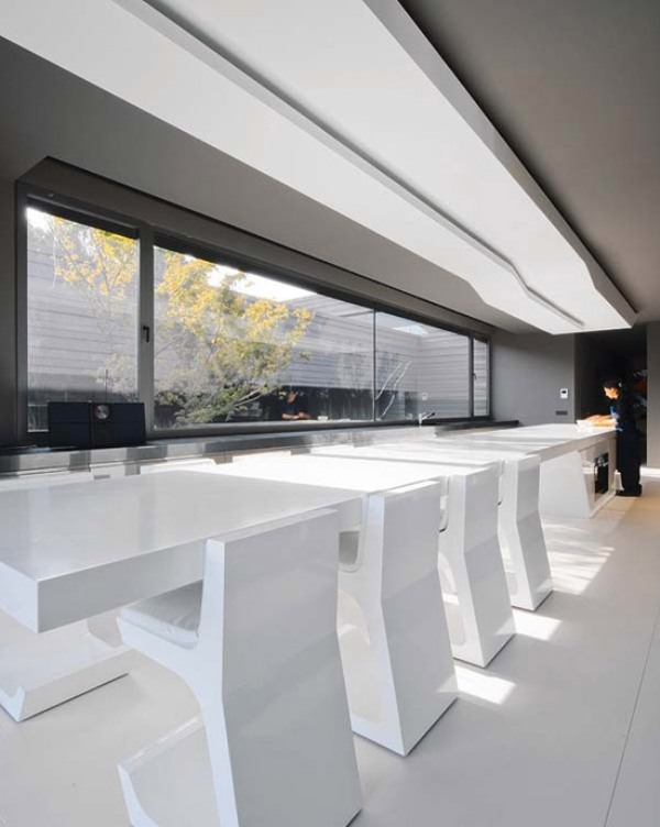 Minimalist House And Work Of Art In One