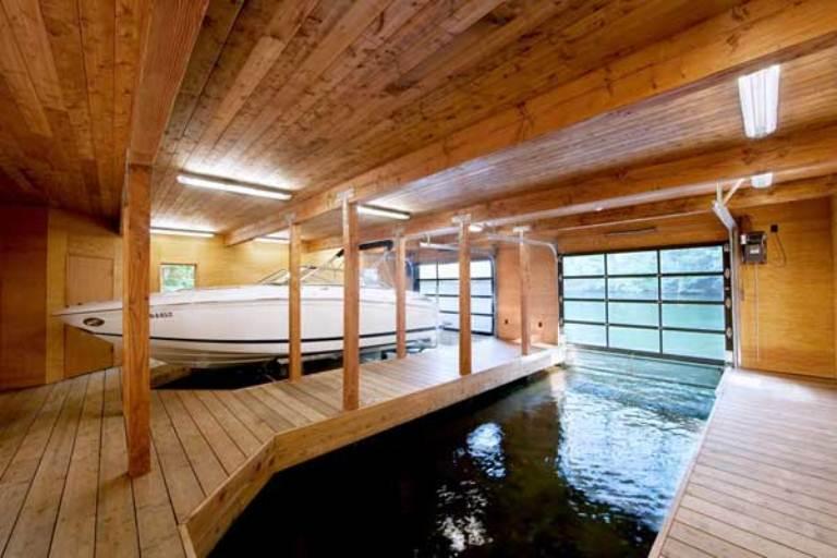 Minimalist House Of Natural Wood