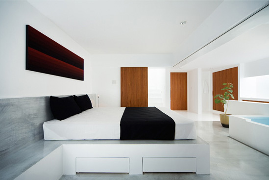 Minimalist Japanese White House
