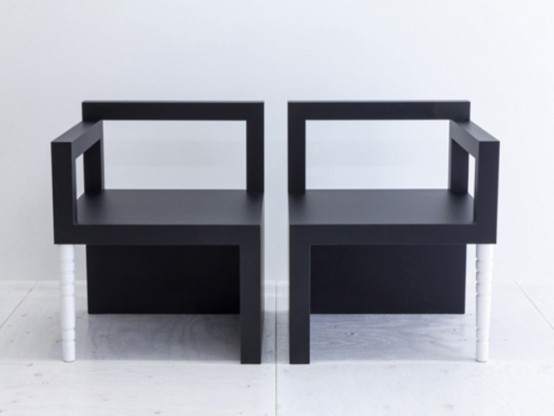 Minimalist KK Chair That Represents Human Nature