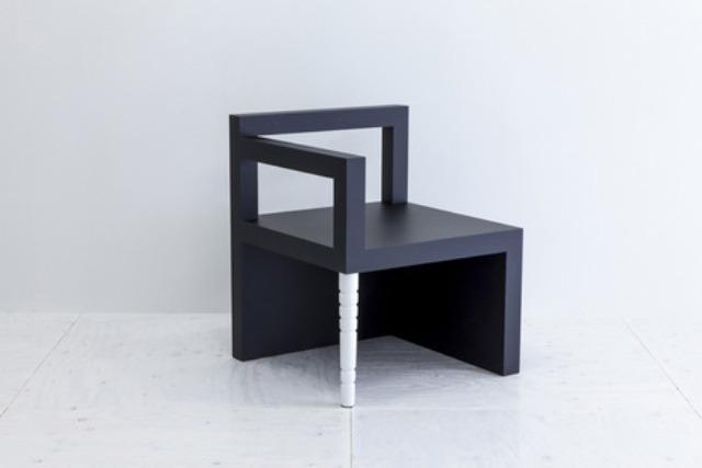 minimalist kk chair that represents human nature digsdigs