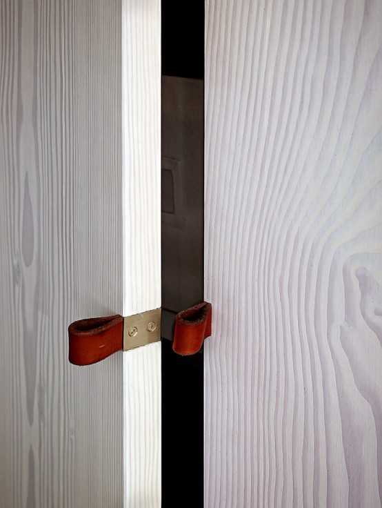 Minimalist Light Wood Loft With Smart Solutions